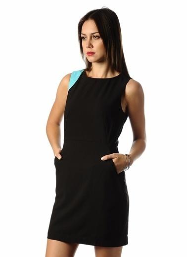Vero Moda Vero Moda 10091432 Sİyah Kolsuz Elbise Siyah